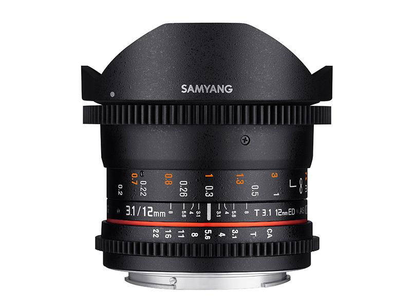 Samyang 12mm Fisheye T3,1 VDSLR (FULLFORMAT) - MFT