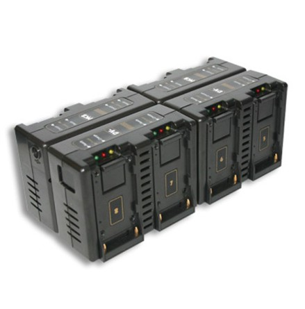 8-Channel Simultaneous Sony L-Series Fast Charger-Hawk Woods