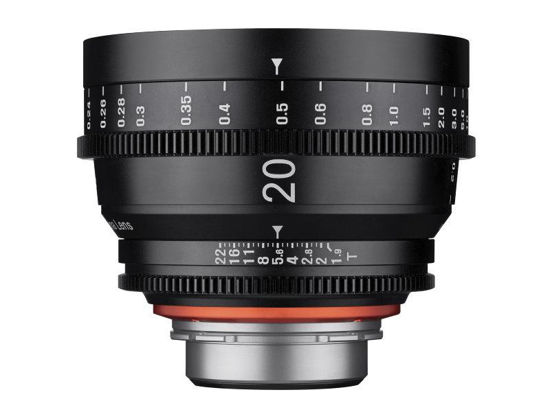 Samyang Xeen Cine 20mm T1.9 Sony E