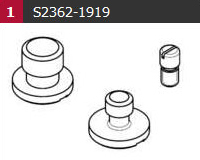 Camera Screw Kit For T&G Plate 0364