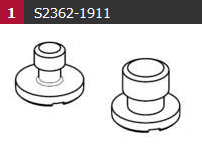 Camera screw kit for plate 1464/1064