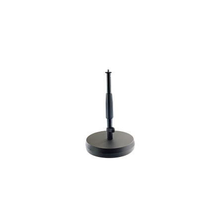 23325 Table- /Floor Microphone Stand - black