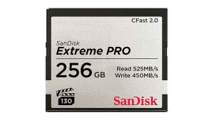 Cfast 2.0 Extreme Pro 256GB 525MB/s VPG130