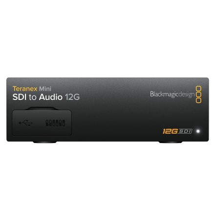 SDI to Audio 12G - Teranex Mini - Blackmagic Design