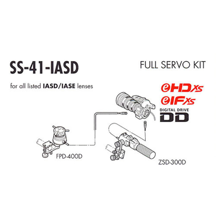 Full-Servo Kit for Digital ISAD and IASE Lenses
