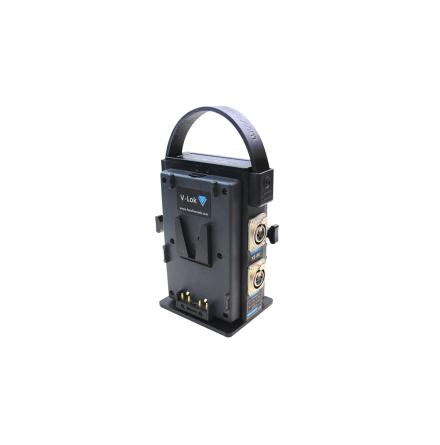 V-Lok Dual Docking Adaptor 2x XLR 4-pin 14V 2x D-tap