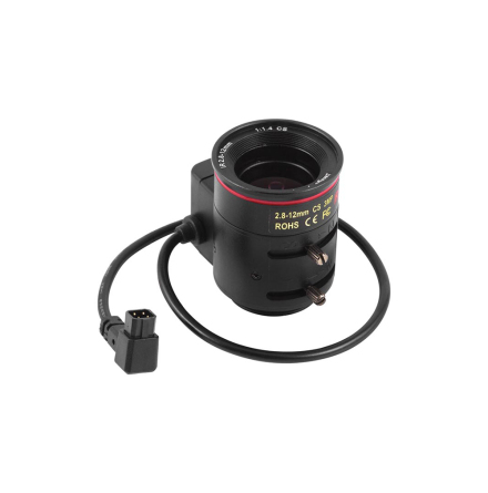 Lens CS Mount 2.8-12mm F1.4 Auto Iris (AOV approx. 98-25°)