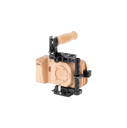 Unified BMPCC4K Camera Cage (Wood Grip) for BMPCC 4K