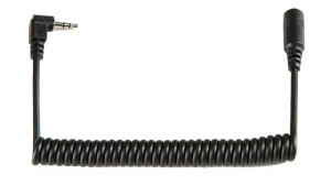 Coiled Cable Lanc Male-Female 10 inch