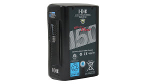 DUO-C150 143Wh V-Mount Battery with D-Tap and USB
