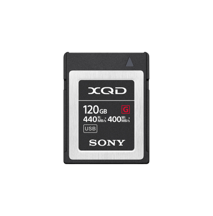 Sony XQD G-series, 120GB R440/W400 MB/s