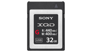 Sony XQD G-series, 32GB R440/W400 MB/s