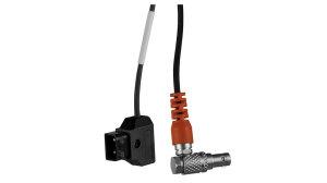 Teradek RT Latitude D-tap Cable 40cm (right angled)