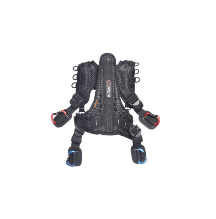 K-Tek Stingray Harness with back-saving ExoSpine