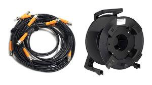 L3CFW Coax Cable BNC-BNC 75 Ohm 3G-SDI Black w/ Shill Reel