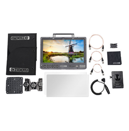 SmallHD 1303 13-inch HDR Production Monitor Kit - V Mount