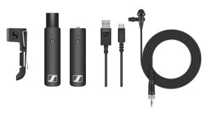 Wireless Mic Set Lavalier XSW-D XLR Reciever