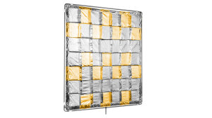 4x4ft Silver/Gold Reflector (Slip On Shiny-Board)