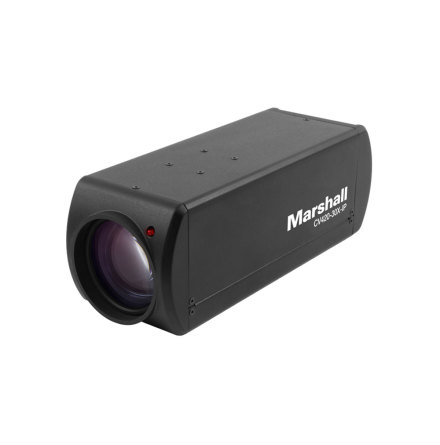 Compact UHD Camera with 4,6-135mm 30x Zoom Lens - IP/HDMI