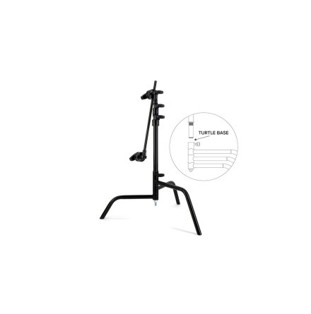 "C-Stand 20"" Spring Loaded Turtle Base, Kit (Black)"