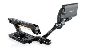 Panasonic Au-Eva1 handle EVF mount