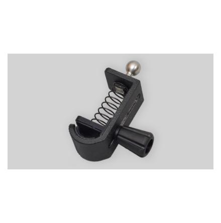 Easyrig Camera hook with ball stud mounted