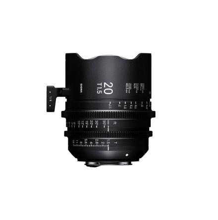 Sigma Cine 20mm T1.5 FF (Metric)