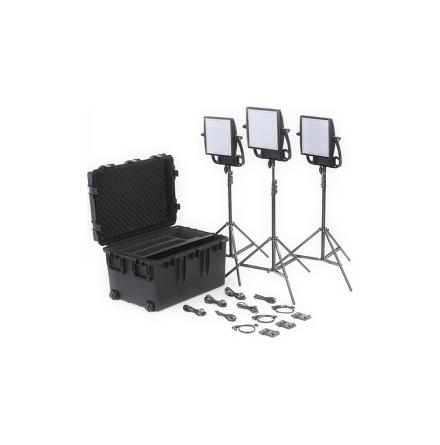 Astra 6X Traveler Trio V-Mount Kit - Litepanels