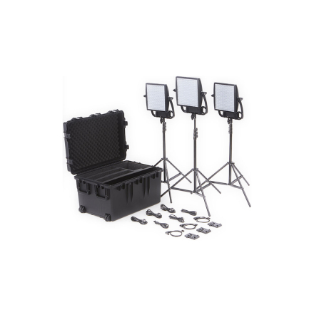 Astra 3X Traveler Trio V-Mount Kit - Litepanels