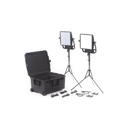 Astra 6X + Astra Soft Traveler Duo V-Mount Kit - Litepanels