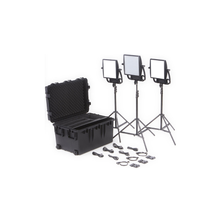 Astra Soft + Astra 6X Traveler Trio V-Mount Kit - Litepanels