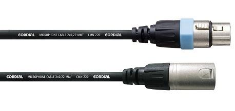 0,5 m Microphone Cable XLR/XLR - Cordial