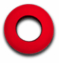 Round Large - Red MicroFiber - Bluestar