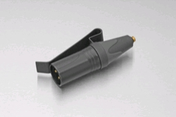 DPA MicroDot to 3-pin XLR (P48) with Belt Clip