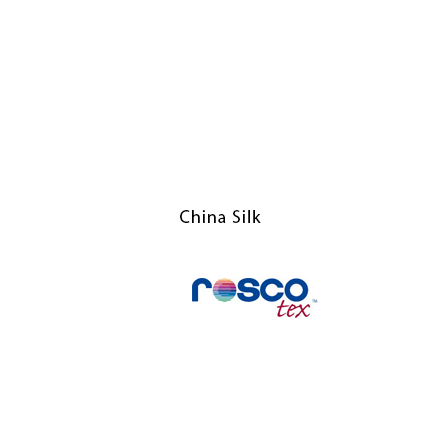 China Silk 6x6 - Rosco Textiles