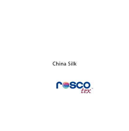 China Silk 20x20 - Rosco Textiles