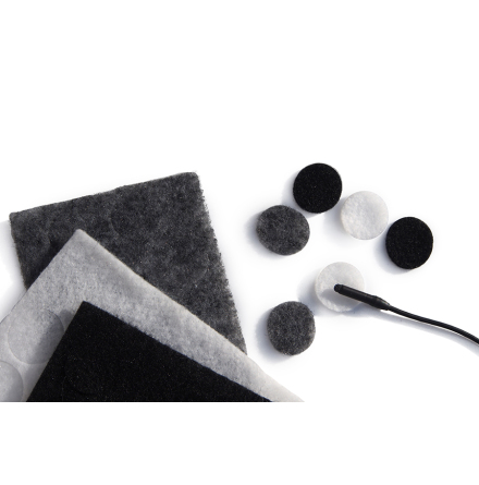 Mixed Colour Undercovers Black/Gray/White - Rycote