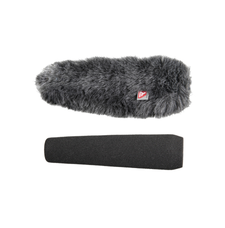 Foam & Windjammer Shotgun Microphone 18cm 24-25mm - Rycote