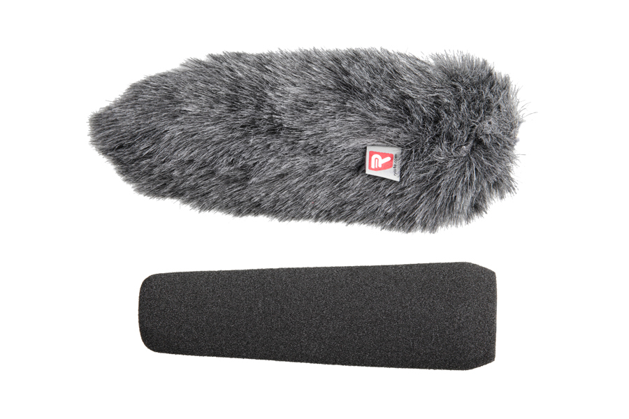 Foam & Windjammer Shotgun Microphone 15cm 19-22mm - Rycote