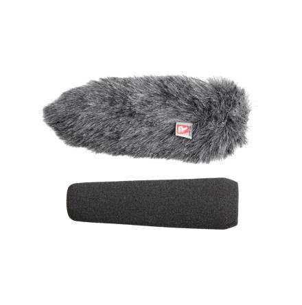 Foam & Windjammer Shotgun Microphone 15cm 19-22mm - Rycote