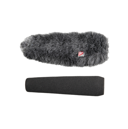 Foam & Windjammer Shotgun Microphone 18cm 19-22mm - Rycote