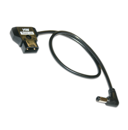 Power-Con 2-pin (male) - 2.5mm Right-Angled Jack Plug 60 cm - Hawkwoods