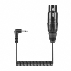 Cable KA 600 XLR to Mini-Jack Coiled