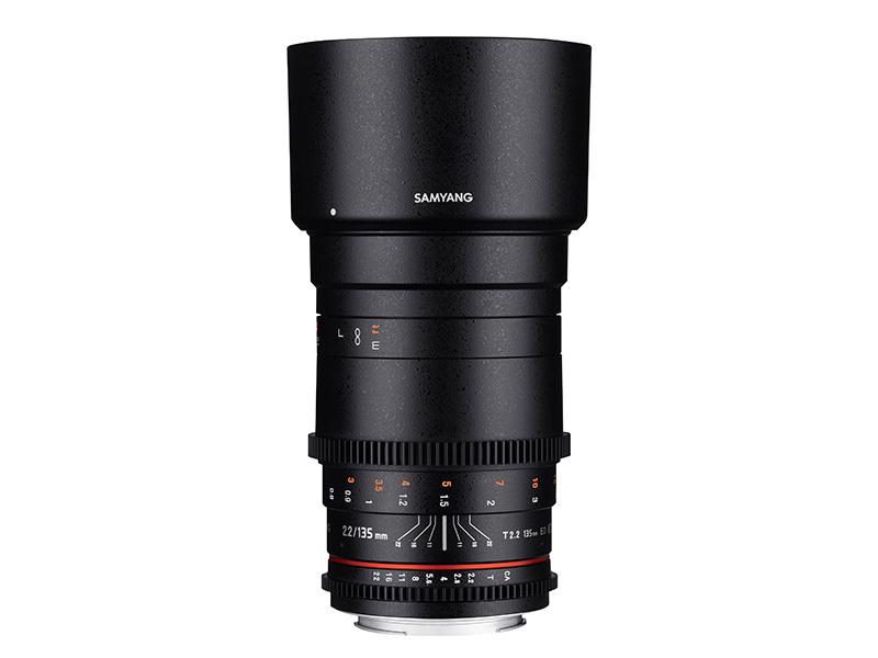 Samyang 135mm T2,2 VDSLR (FULLFORMAT) - Sony E