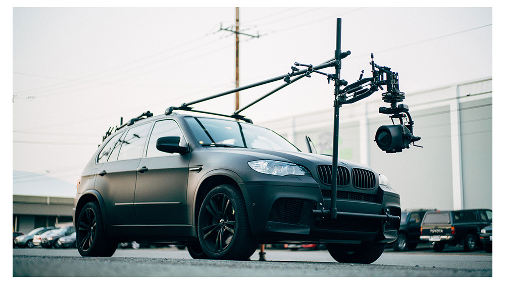 MoVI Carbon Vehicle Mounted